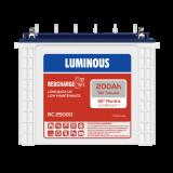 Luminous Red charge RC25000 200AH Tall Tubular Battery