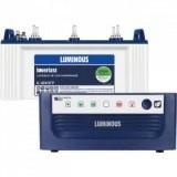 LUMINOUS ECO WATT +650VA Square Wave Inverter &  LUMINOUS IL1830FP 150AH Flat Plate Battery