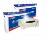 Microtek SEBZ 1600VA Pure Sine Wave Inverter & Mtekpower EB 1800TT 150AH Tall Tubular Battery