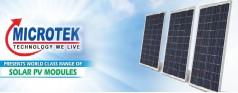 Microtek Solar Panel